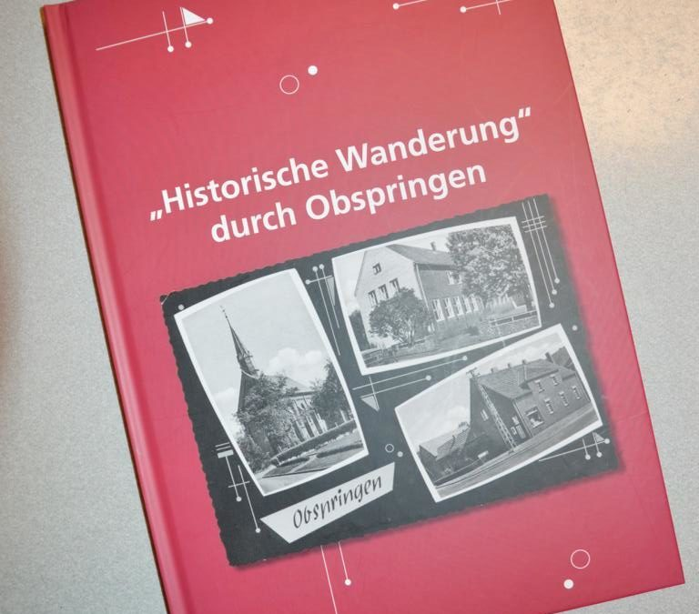 """Buch """"Historische Wanderung durch Obspringen"""""""